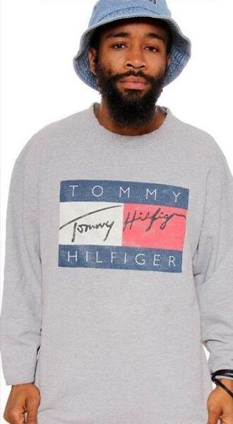 sweater tommy hilfiger vintage jumper circle skirt
