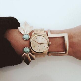 jewels nixon watch gold bracelets gold watch