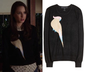 spencer hastings,pretty little liars,birds,bird sweater,hipster