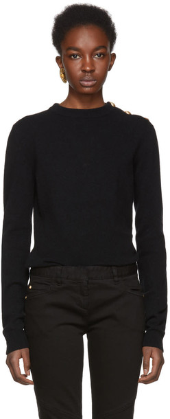 Balmain sweater black