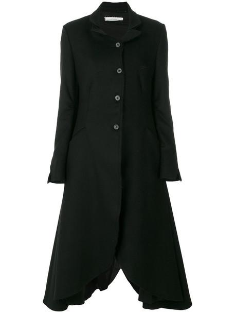 Nostra Santissima coat women cotton black wool
