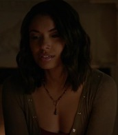 top,bonnie bennett,kat graham,the vampire diaries,khaki