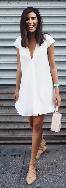 Summer V-neck Dresses
