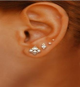 jewels diamonds pearl gold silver piercing cute dress summer dress