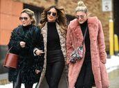 coat,fur,fur coat,streetstyle,ny fashion week 2017,fashion week 2017,winter outfits,nyfw 2017
