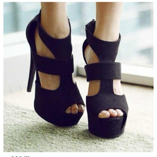 shoes fashion high heels heels black classy classic trendy amazing lovely elegant black high heels cute black shoes black heels wedges open toes scarf heels on gasoline high heels