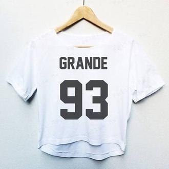 jersey crop tops cropped t-shirt white t-shirt