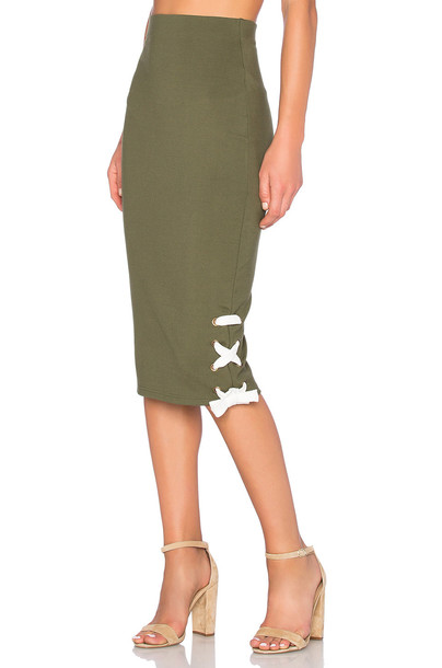 tHE FIFTH LABEL skirt green