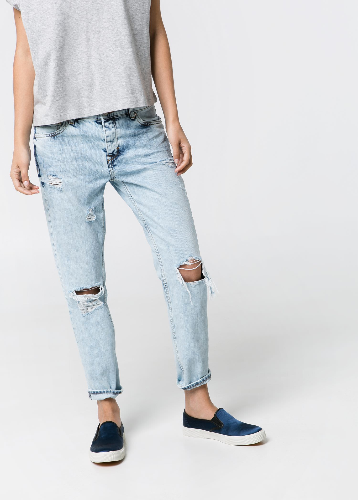 Boyfriend nancy jeans - Jeans for Women | MANGO