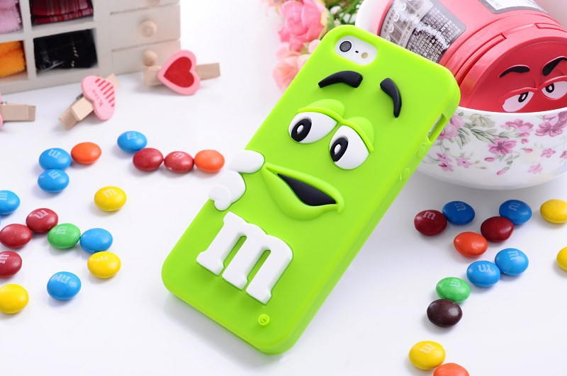 Aliexpress.com : Buy Rainbow Bean Case  for iPhone 5 i5s Cute 3D Silicon Smile Beans Case M&Ms Chocolate 10 Colors Free Shipping from Reliable bean fruit suppliers on Shenzh Qiwei Technology Co.,Ltd