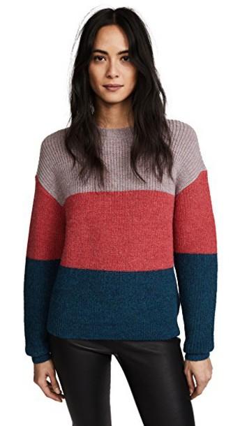 Veda sweater pink aqua