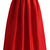 La Diva Pleated Maxi Full Skirt in Red - Retro, Indie and Unique Fashion