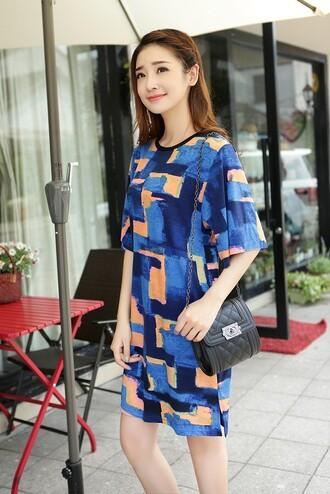 dress print dress