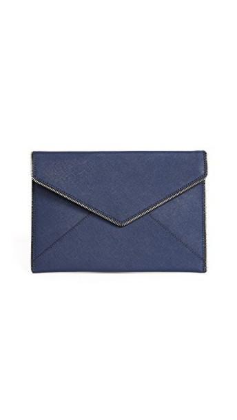 Rebecca Minkoff clutch navy bag