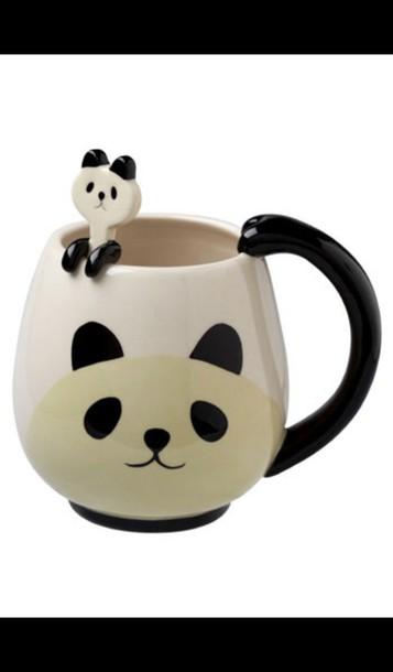 home accessory mug panda