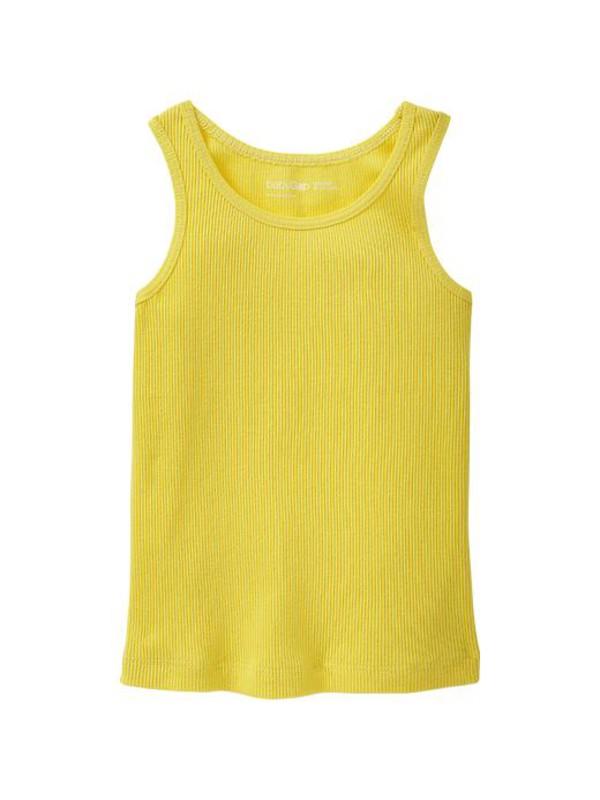 gap ribbed tank aurora yellow girls tops 948440010 top
