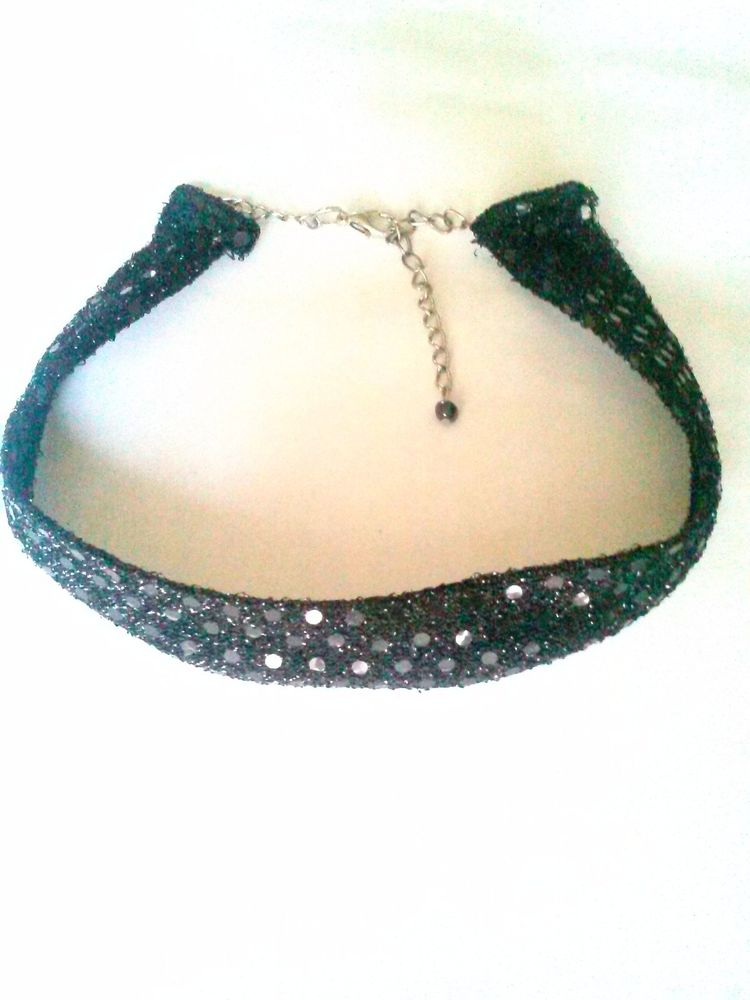 Sequin Choker Necklace