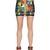 Exotic Printed Scuba Mini Skirt