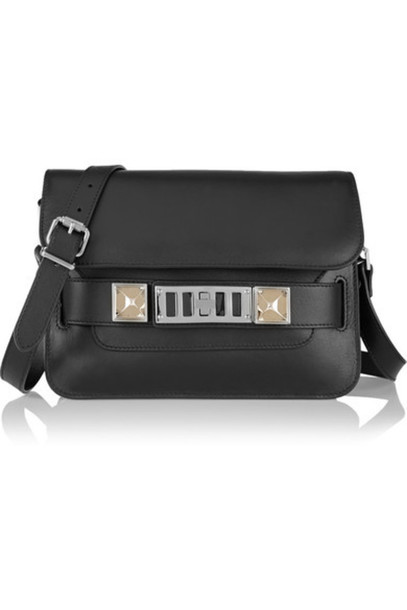 Proenza Schouler mini bag shoulder bag leather black