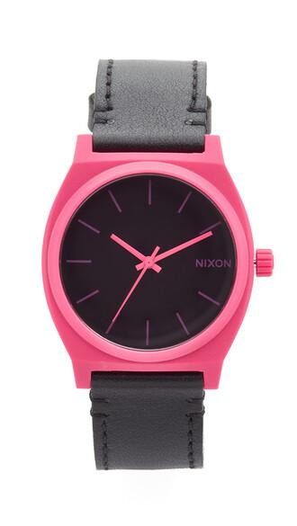 watch black pink jewels