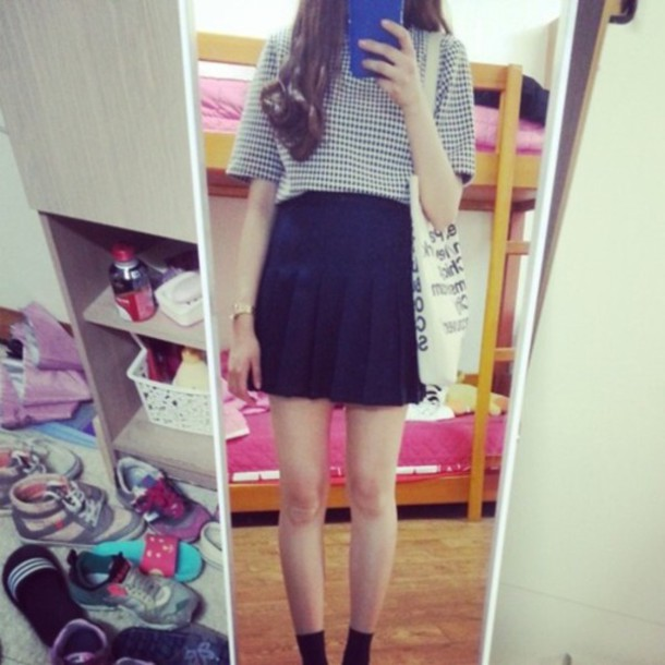 skirt asian fashion