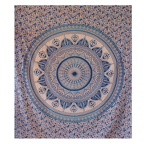 Online Blue Dome Mandala Tapestry - HandiCrunch.com