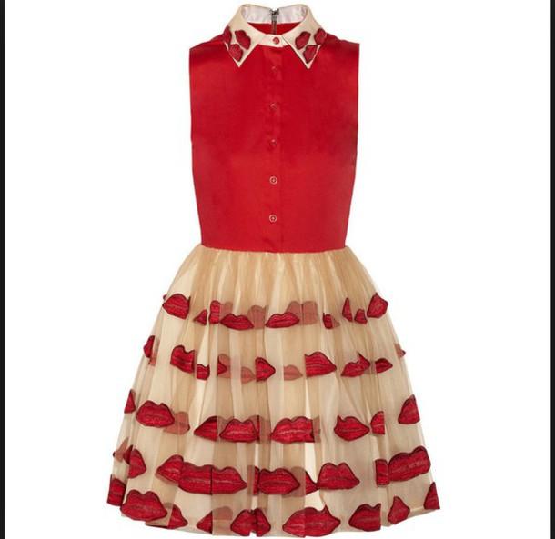 dress ped lip dress