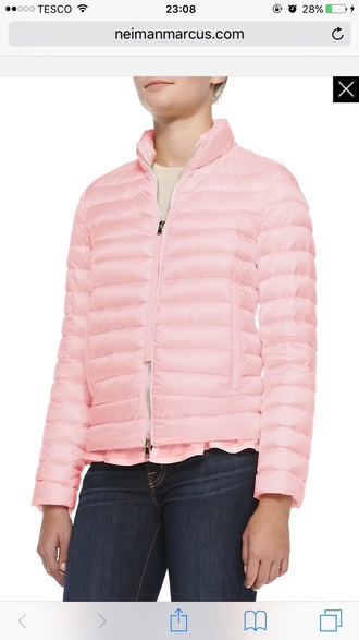 jacket women girly girl pastel pastel pink coat winter jacket winter coat quilted pink blush pink puffer jackets down jacket stylish silk satin coat