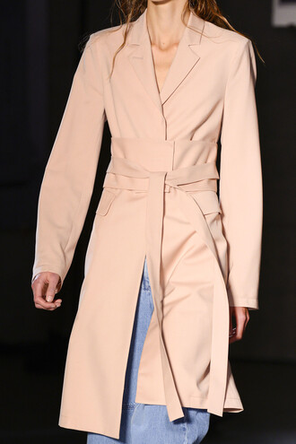 coat tumblr nude coat trench coat