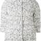 Herno - printed puffer jacket - women - feather down/polyamide/polyurethane - 42, nude/neutrals, feather down/polyamide/polyurethane