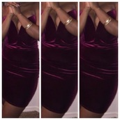 dress,suede deep  v neck dress