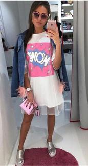 dress,outfit,streetwear,streetstyle,white t-shirt,t-shirt dress