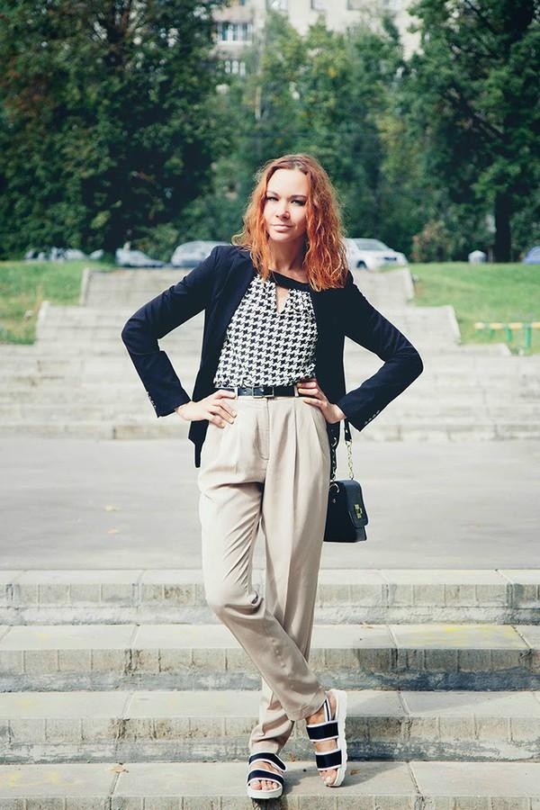 gvozdishe blogger jacket blouse bag shoes