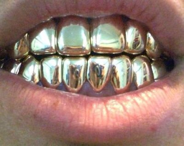 jewels grillz gold girl