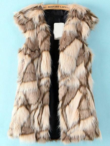 jacket fur zara waistcoat gilet