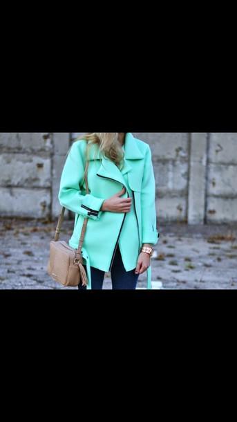 coat green coat