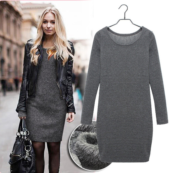 Absolute fleece dress