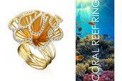 jewels,coral reef,ring,gold,gold ring,impressimo,enigma