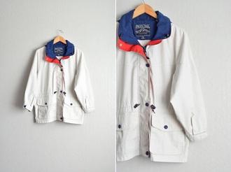 jacket rain coat vintage