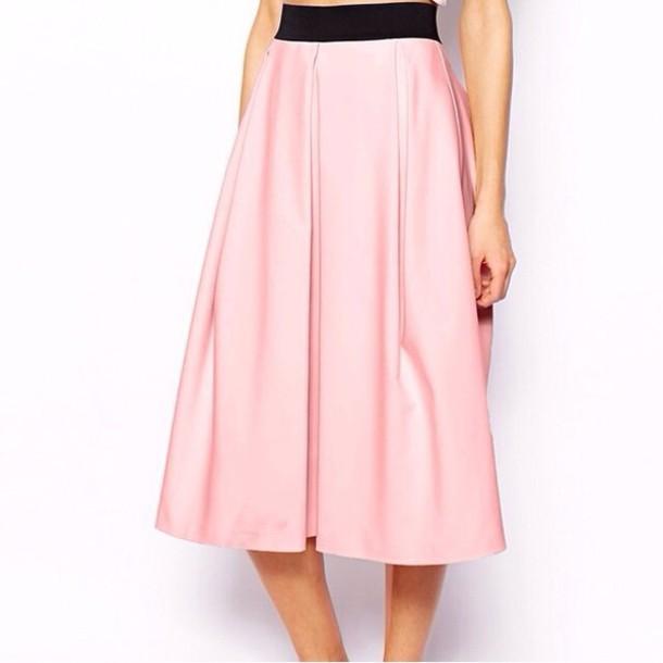 skirt pink skirt pink skirt high waisted wheretoget
