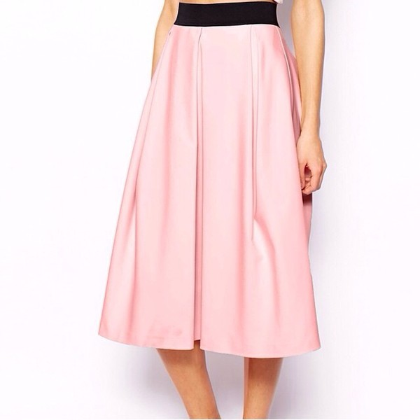 skirt pink skirt pink skirt high waisted