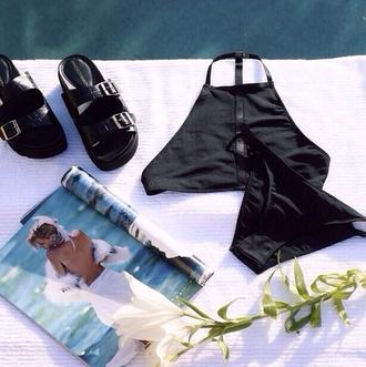 swimwear simmer wear swimmers bikini bikini bottoms bikini top crop tops shoes