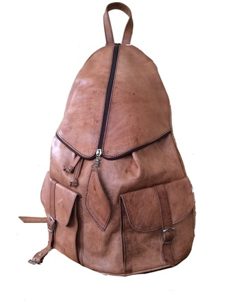 bag leather backpack tan leather backpack leather rucksack brown leather backpack hipster hipster menswear