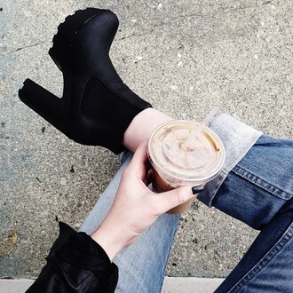 shoes boots black love fashion grunge shoes follow my instagram followme