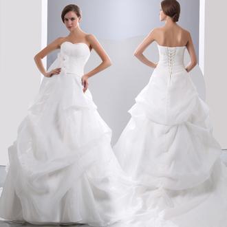 dress wedding dress wedding clothes ball gown dress white wedding dress beautiful gown white wedding dress