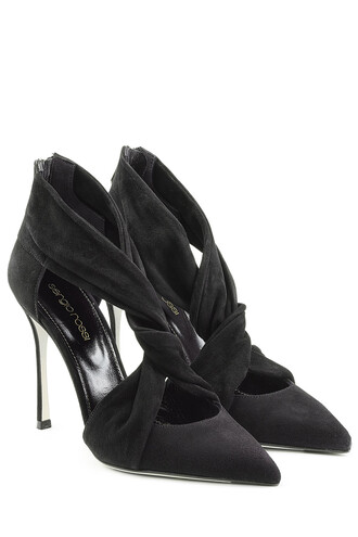 suede pumps pumps suede black shoes