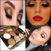 make-up,tf-duan,eyeshadow palette,glitter,eye makeup,eyeliner,eyebrows
