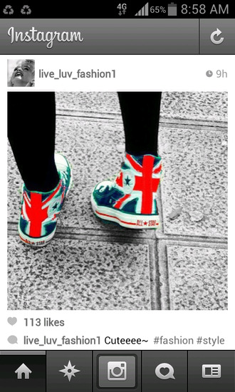 shoes union jack union flag converse converse high tops