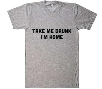 t-shirt funny quote on it cool grey fashion trendy summer shirtoopia shirtoopia.com