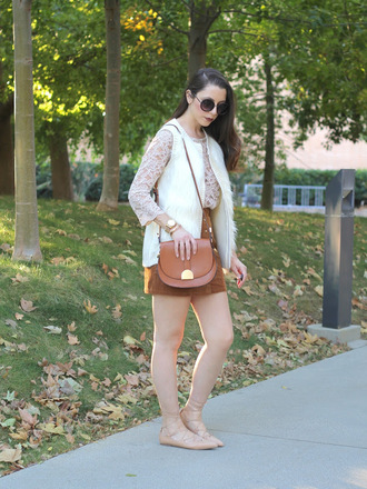 cost with me blogger jacket top skirt shoes bag